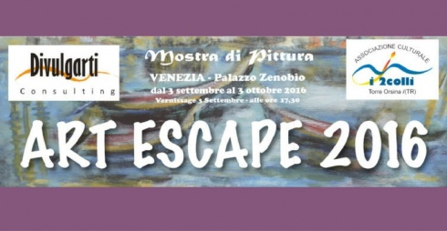 Art Escape 2016 - locandina