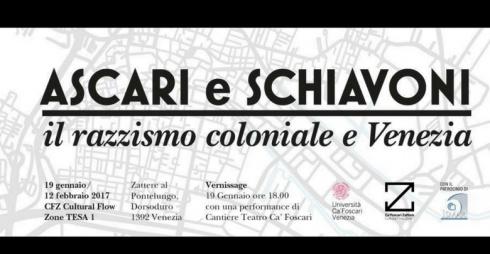 Ascari e Schiavoni.Il razzismo coloniale e Venezia
