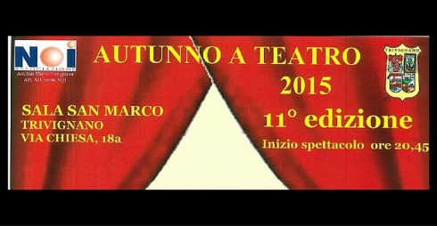 Autunno a Teatro 2015