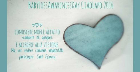 Babyloss Awareness Day - locandina