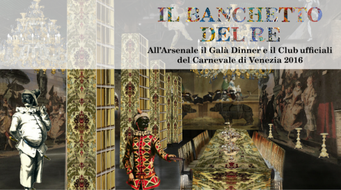 Official Venice Carnival Gala Dinner and club 2016
