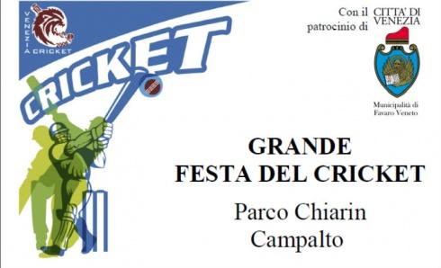 Grande festa del cricket