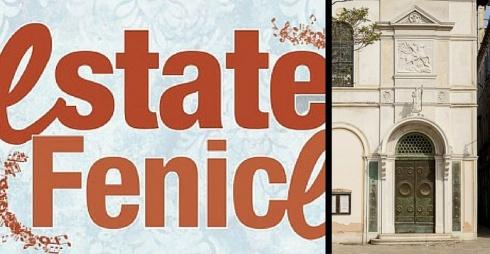 Logo Estate Fenice e Facciata della Chiesa Anglicana di San Giorgio