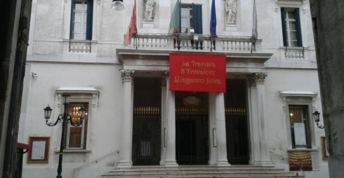 Facciata del Teatro La Fenice