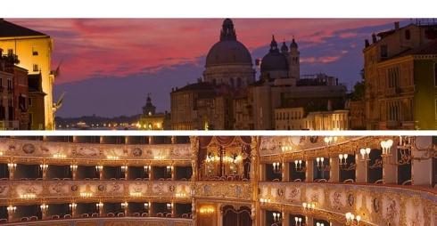 Teatro la Fenice e Basilica della Madonna della Salute