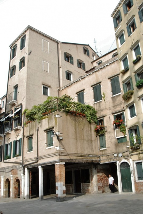 le alte case del Ghetto