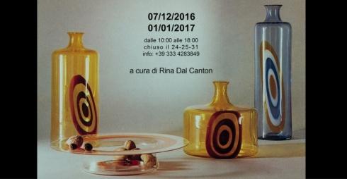 Gianmaria Potenza, l'arte nella bellezza del vetro - locandina