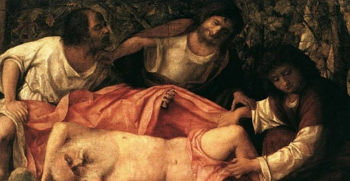 Giovanni Bellini - Ebbrezza di Noè