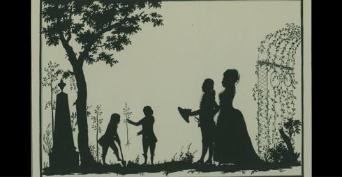 Die Goethezeit in Silhouetten