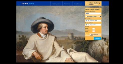 Herr Goethe, stanza singola vista Laguna