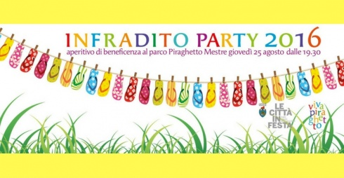 Locandina Infradito Party 2016