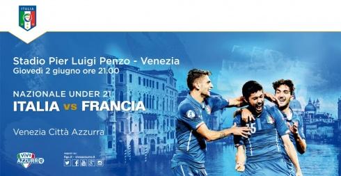 Italia vs Francia under 21