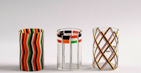 Josef Hoffmann War Glasses, 1914-16, WI 1421, 1423, 1419. MAK – Austrian Museum of Applied Arts / Contemporary Art. Foto: © Wolfgang Woessner/MAK