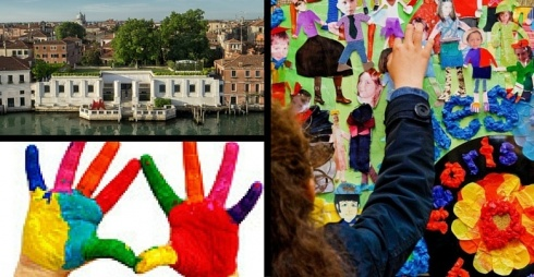Kids Day -  laborqatori alla Peggy Guggenheim Collection