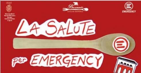 Locandina di La Salute per Emergency