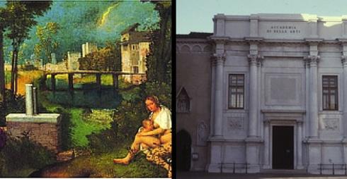 facciata Gallerie dell'Accademia
