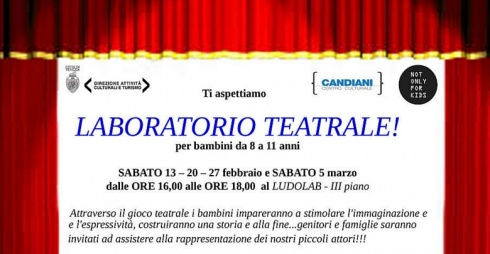 Not only for kids, laboratorio teatrale