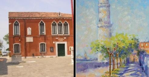 "Palazzo Aperto, ""Isole"" mostra di pittura Oksana Khachatryan"