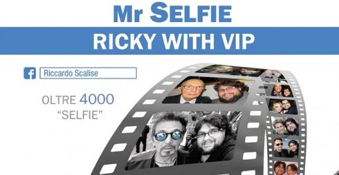 Mr Selfie Ricky with vip