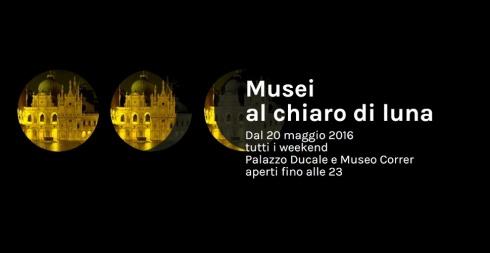 Musei al chiaro di luna 2016