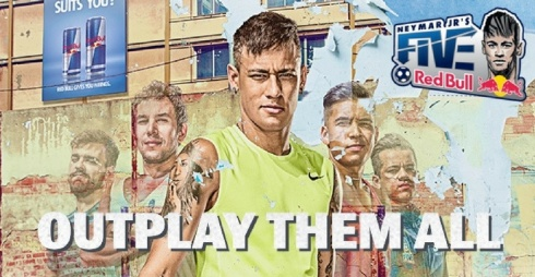 Locandina dell'evento Neymar Jr's Five/ Poster of the event Neymar Jr's Five