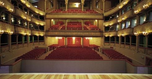 Teatro Malibran - interno