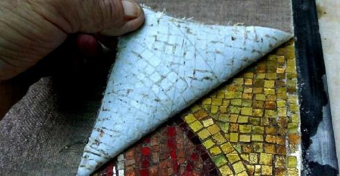 Tecniche Musive, locandina mostra