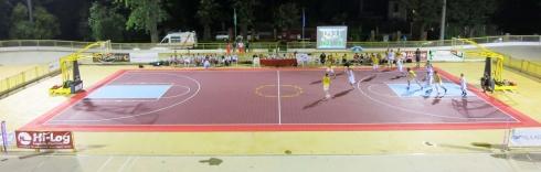 Il campo di basket del Torneo dei Sestieri