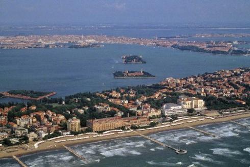 veduta del Lido di Venezia