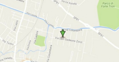 Piazza Cosmai su Google Maps