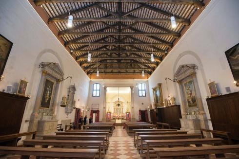 Interno della Chiesa di San Giovanni Battista