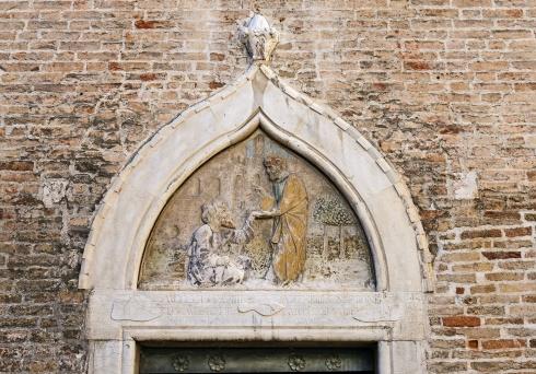 particolare dei portale