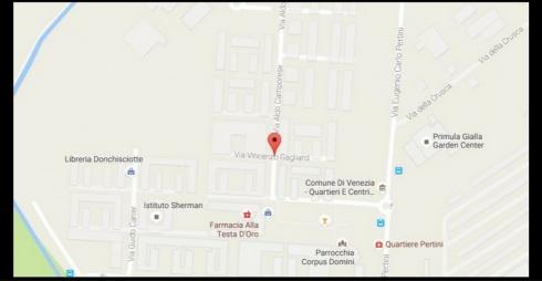 Via Vincenzo Gagliardi da Google Maps