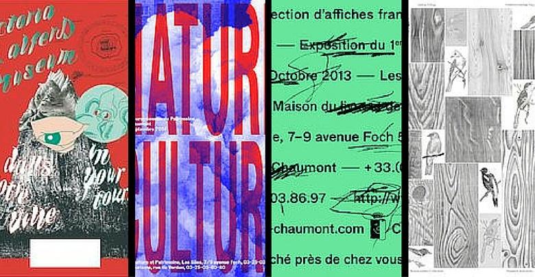 nell'immagine da sinistra verso destra: 1. Abake Victoria and Alferd Museum 2014  2. Bizzarri-Rodriguez C'est affiché près de chez vous 2013  3. Building Paris Journées du patrimoine 2014  4. Jan and Randoald A Forest 2015