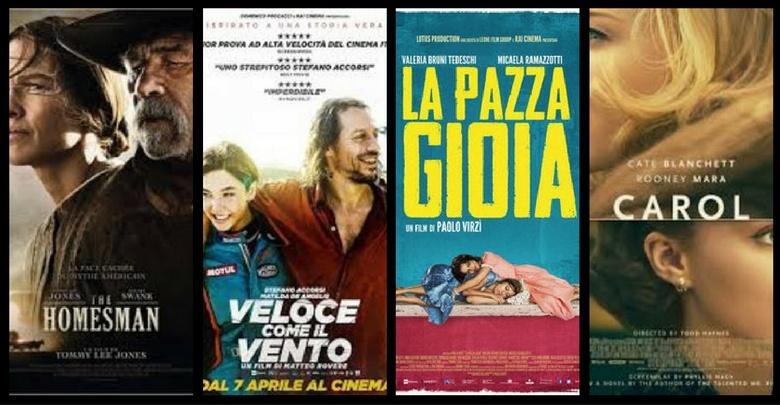 locandine dei film in programma